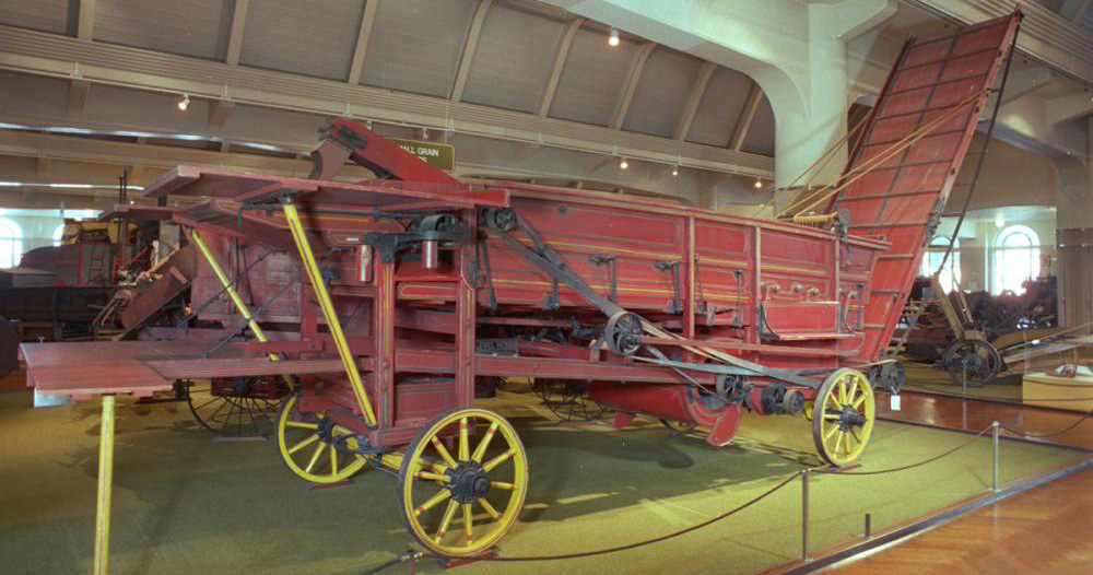 Shipping a Classic 1932 Threshing Machine