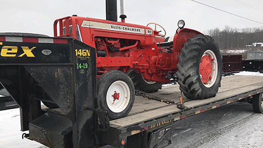 Shipping an Allis Chalmers D17 Series III