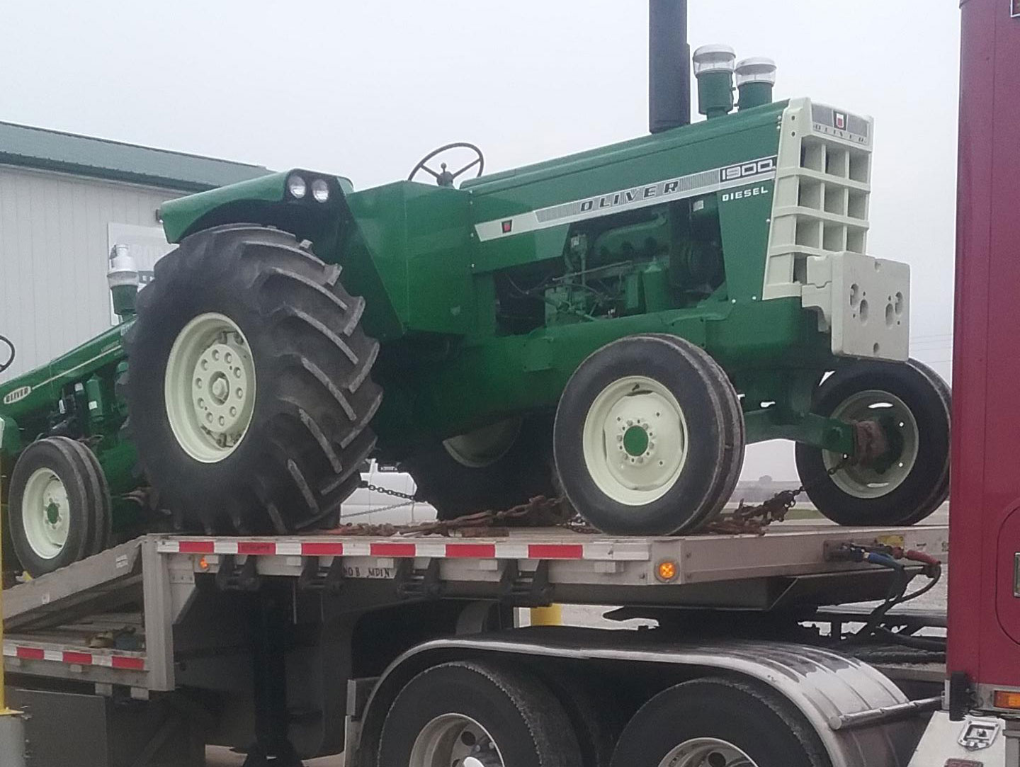 Shipping Two Oliver Tractors