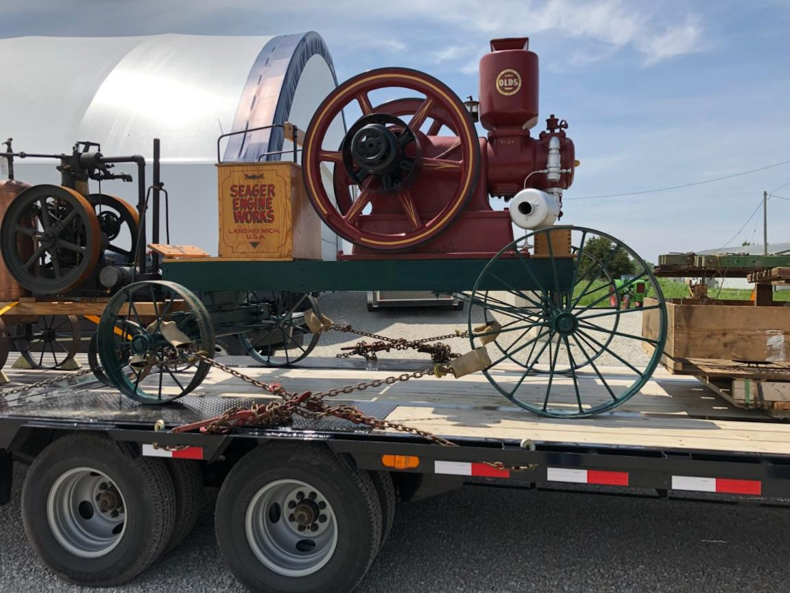 Shipping a Vintage Tractor
