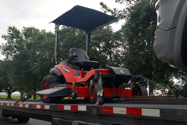 Transporting Mowers